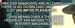 Download managers are allowed there is no download limit just unlimited pleasure!!!